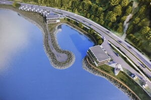 Vizualizácia projektu Yacht Village II.
