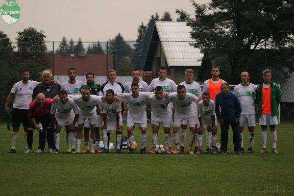 Mužstvo Spartak Vysoká nad Kysucou.