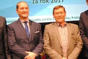 Bratia Krišandovci. Ján (vľavo) a Andrej.