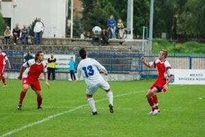 Futbalový štadión v Spišskej Novej Vsi.