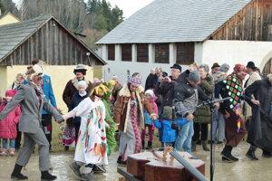 Bujará nálada v Múzeu slovenskej dediny v Martine.