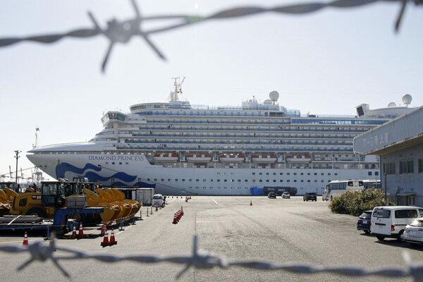 Diamond Princess je v karanténe v jokohamskom prístave od 4. februára.