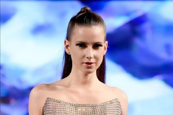 Adriana Pašková počas Newyorského Týždňa módy