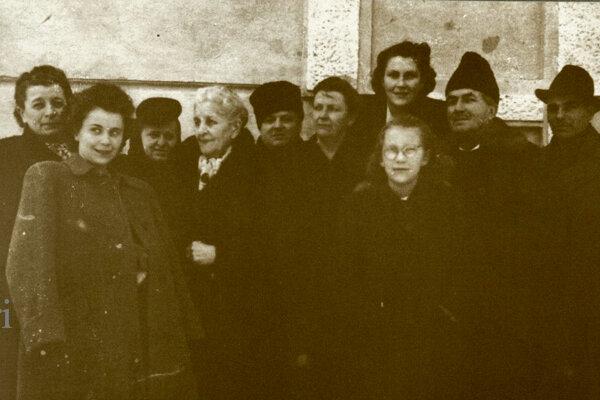Natália Krnáčová s rodinou