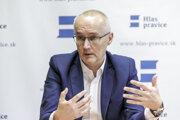 Predseda politickej strany Hlas pravice Ondrej Matej.