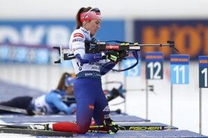 Paulína Fialková pred poslednými hromadnými pretekmi na MS v biatlone 2020.