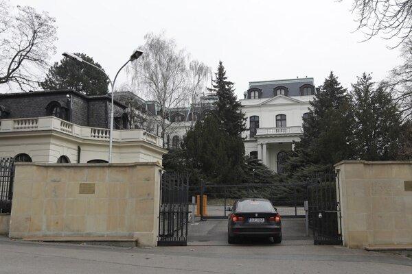 Ruská ambasáda  Prahe.