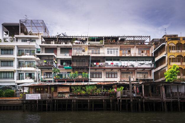 Príbytky v Bangkoku