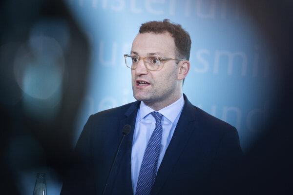 Nemecký minister zdravotníctva Jens Spahn.