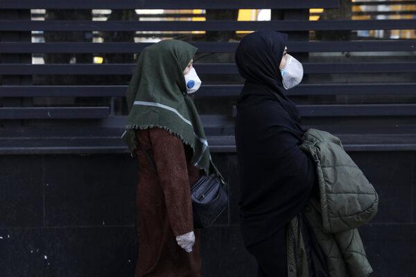 Obyvatelia Teheránu.