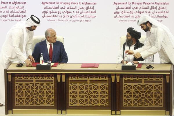 Mierové rokovania v Katare.