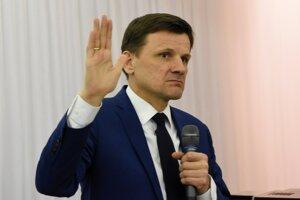 Voľby 2020: Alojz Hlina nebol s výsledkami spokojný.