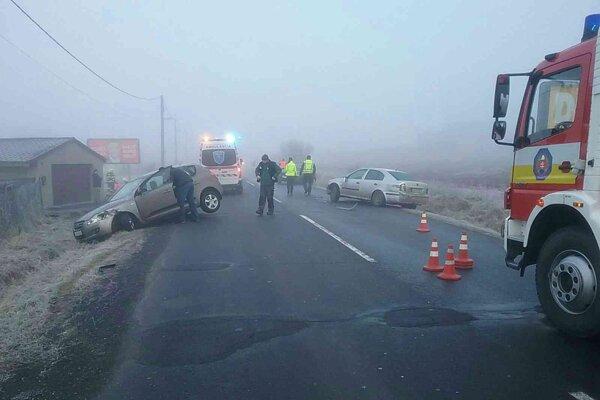Ranná nehoda v Lučenci.