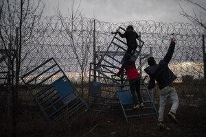 Napätie na hraniciach medzi Tureckom a Gréckom.