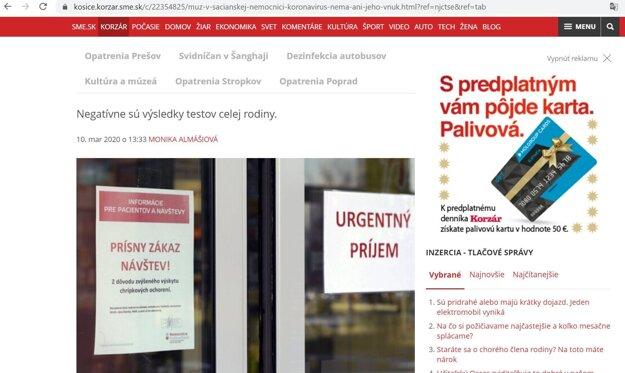 Toto je printscreen pôvodného článku z kosice.korzar.sme.sk, ktorý autor upravenej fotografie zneužil.