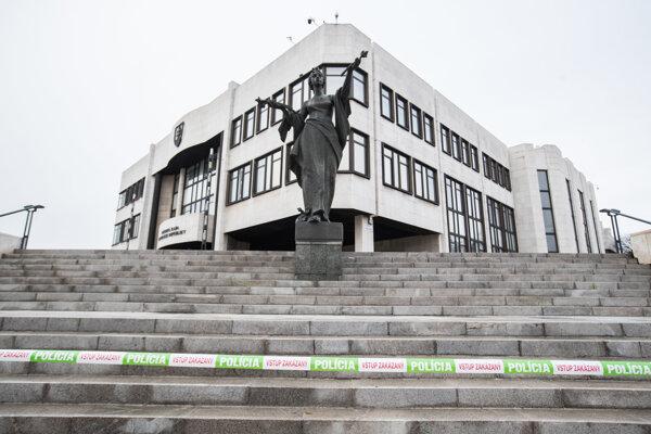 Budova Národnej rady Slovenskej republiky.