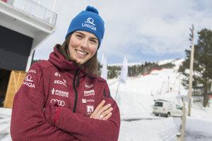 Preteky v Are zrušili. Petra Vlhová získala dva malé glóbusy za slalom a paralelný slalom.