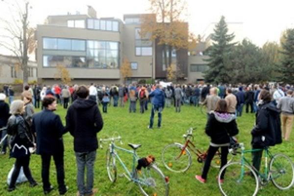CT protest.