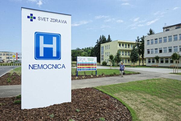 Humenská nemocnica vyhradila pre pacienov so symptómami koronavírusu samostatný priestor.