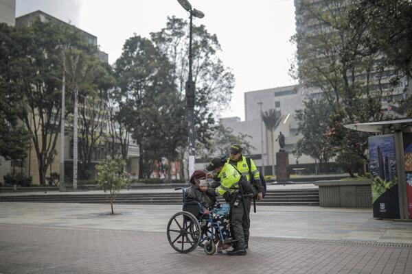 Kolumbia prijala preventívne opatrenia.