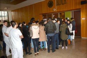 Z počtu 1400 zahraničných študentov, ktorí navštevujú UPJŠ, je až 1100 na lekárskej fakulte.