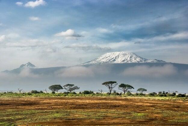 Výhľad na Kilimandžáro
