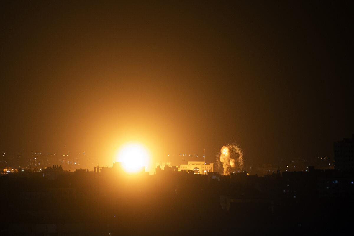 Izrael zaútočil na pozície Hamasu v pásme Gazy