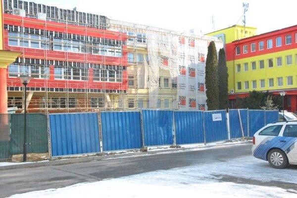 Ľubovnianska nemocnica prechádza rekonštrukciou.