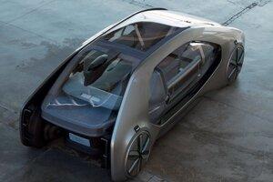 Koncept autonómneho vozidla od Renaultu.