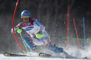Jakub Krako na paralympiáde v Pjongčangu.