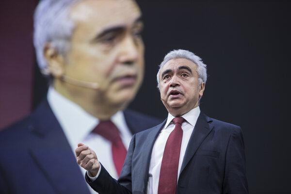 Fatih Birol, šéf Medzinárodnej agentúry pre energetiku.