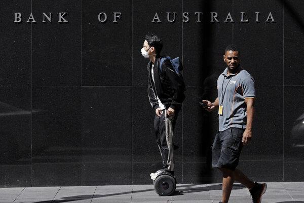 Obyvatelia austrálskeho mesta Sydney.