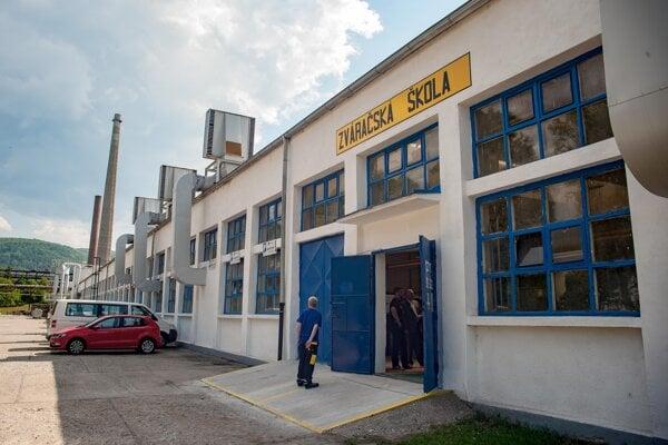 Areál strojárskej spoločnosti PPS Group Detva.