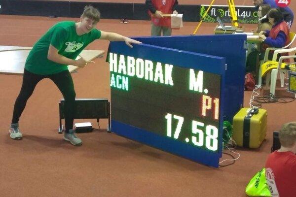 Novozámockú atletiku aj vroku 2019 úspešne reprezentoval vrhač Milan Haborák.