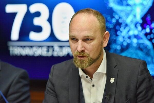Predseda Trnavského samosprávneho kraja Jozef Viskupič.