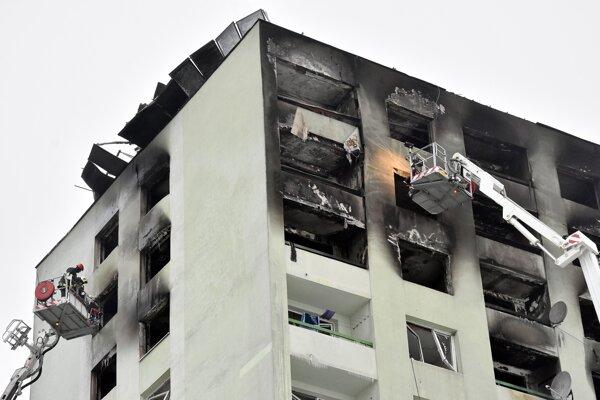Pri požiari je najjednoduchšie si uplatniť škodu z vlastného poistenia bytu a domácnosti.