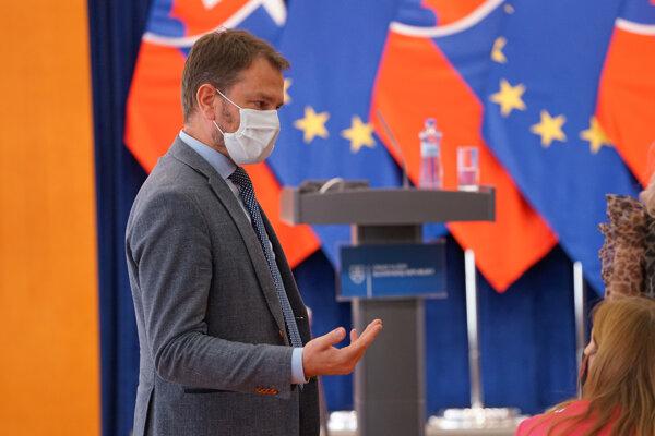 Predseda vlády SR Igor Matovič.