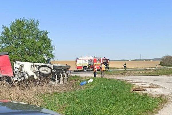 Fotka z miesta nehody