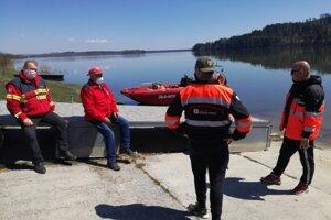 Pátrania sa zúčastnili aj členovia Oravského záchranného systému.