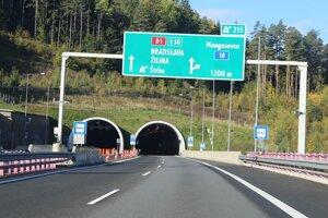 Tunel Bôrik bude na niekoľko hodín uzavretý.