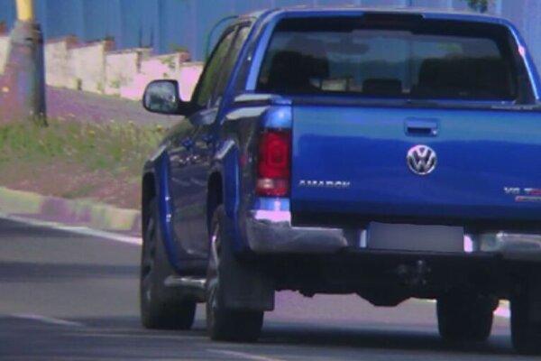 Vodičovi VW Amarok namerali rýchlosť 105 km/h.