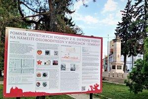 Informačné tabule odporuči košickému magistrátu  osadiť Krajský pamiatkový úrad Košice.