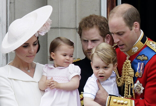 Na oslavách narodenín kráľovny Alžbety II v júni 2016.