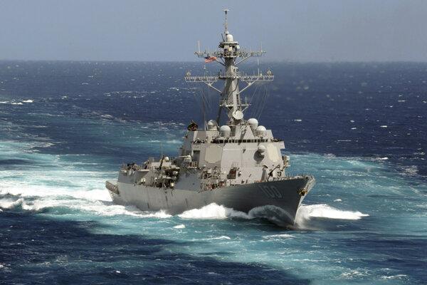 Vojnová loď USS Kidd - ilustračná fotografia.