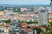 Ilustračná snímka Bratislavy.