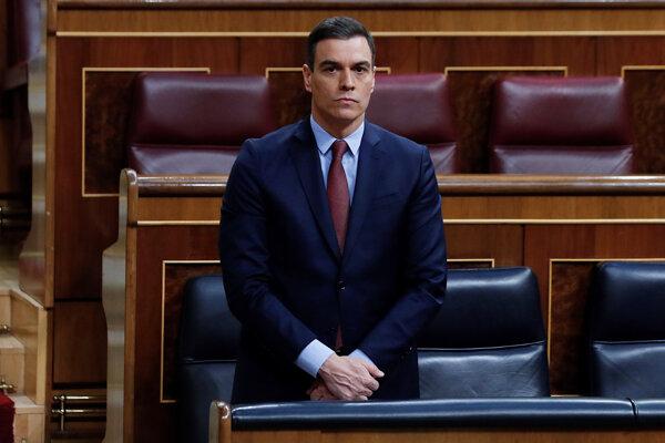 Španielsky premiér Pedro Sánchez.