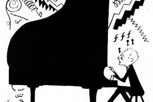 Karikatúra z newyorskej tlače.