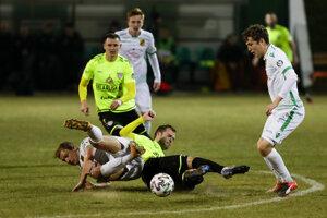 Futbalisti v bieloruskej lige - ilustračná fotografia.
