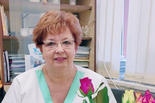Eva Moravská je vedúcou sestrou na gynekologicko-pôrodníckom oddelení levickej nemocnice.
