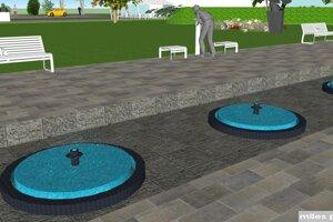 Pribudne aj vodný prvok s oddychovou zónou.